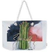 Asparagus In Raffia Weekender Tote Bag