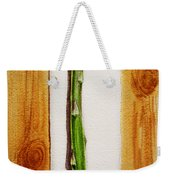 Asparagus Tasty Botanical Study Weekender Tote Bag