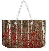 Aspen And Berries Weekender Tote Bag