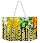 Aspen Colorado 4 Seasons Abstract Weekender Tote Bag