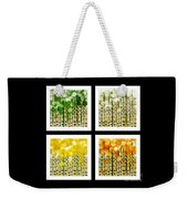 Aspen Colorado Abstract Square 4 In 1 Collection Weekender Tote Bag