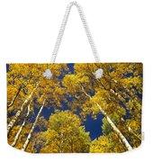 Aspen Grove In Fall Weekender Tote Bag