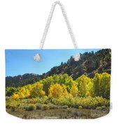 Aspen Grove In The Fall Weekender Tote Bag