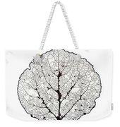 Aspen Leaf Skeleton 1 Weekender Tote Bag