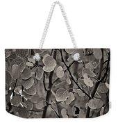 Aspen Leaves Weekender Tote Bag