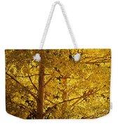 Aspen Leaves Textured Weekender Tote Bag