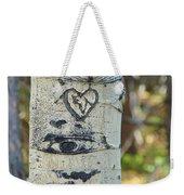 Aspen Love Weekender Tote Bag