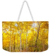 Aspen Morning Weekender Tote Bag by Darren  White