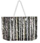 Aspen Tree Trunks Weekender Tote Bag