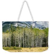 Aspen Trees Along The Bow Valley Weekender Tote Bag