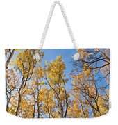 Aspen Trees In The Fall Weekender Tote Bag