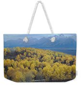 Aspens And The Tetons Weekender Tote Bag