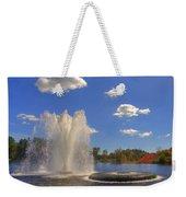 Aspetuck Reservoir Weekender Tote Bag by Joann Vitali