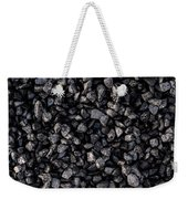 Asphalt Gravel Weekender Tote Bag by Hakon Soreide
