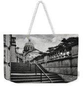 Aspirations In Black And White Weekender Tote Bag