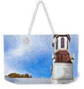 Aspiring Chapel Impasto Weekender Tote Bag