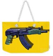 Assault Rifle Pop Art - 20130120 - V2 Weekender Tote Bag