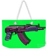 Assault Rifle Pop Art - 20130120 - V3 Weekender Tote Bag