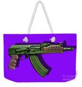 Assault Rifle Pop Art - 20130120 - V4 Weekender Tote Bag