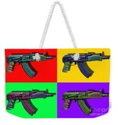 Assault Rifle Pop Art Four - 20130120 Weekender Tote Bag