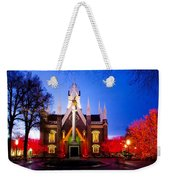 Assembly Hall Slc Temple Weekender Tote Bag