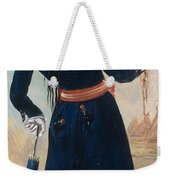 Assiniboine Warrior In Regimental Weekender Tote Bag