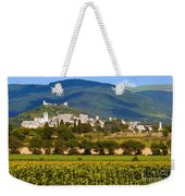 Assisi From The Sunflower Fields Weekender Tote Bag