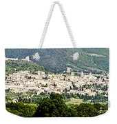 Assisi Italy - Medieval Hilltop City Weekender Tote Bag