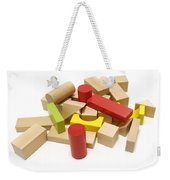 Assorted Building Blocks Weekender Tote Bag
