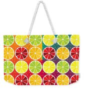 Assorted Citrus Pattern Weekender Tote Bag