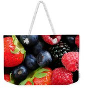 Assorted Fresh Berries Weekender Tote Bag