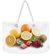 Assorted Fruit Weekender Tote Bag by Elena Elisseeva