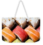 Assortment Of Sushi Weekender Tote Bag