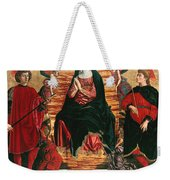 Assumption Of Mary With Sts Minias And Julian Weekender Tote Bag