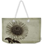 Aster With Textures Weekender Tote Bag