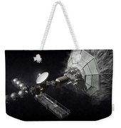 Asteroid Mining And Processing Weekender Tote Bag