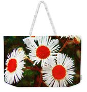 Asters Bright And Bold Weekender Tote Bag