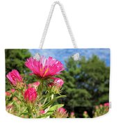 Asters Weekender Tote Bag