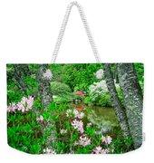 Asticou Azalea Garden Weekender Tote Bag