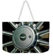 Aston Martin Db7 Wheel Emblem Weekender Tote Bag