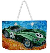 Aston Martin Dbr1 Weekender Tote Bag