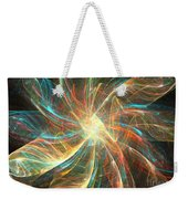 Astral Flower Weekender Tote Bag
