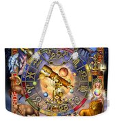 Astrology Weekender Tote Bag by Ciro Marchetti