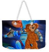 Astronaut Training Bear Weekender Tote Bag