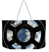 Astronauts View From The Space Station Weekender Tote Bag
