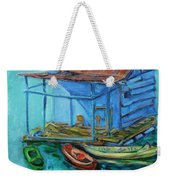 At Boat House Weekender Tote Bag