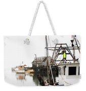 At Dock Weekender Tote Bag by Karol Livote