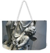 At Her Feet In A Garden Allegory Weekender Tote Bag