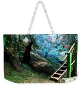 At Home In Her Forest Keep - Pacific Northwest Weekender Tote Bag