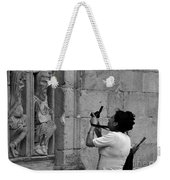 At Least Try And Smile While The Lady Takes Your Photo..... Weekender Tote Bag